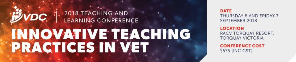 S5557 VDC 2018 T&L Conference Banner